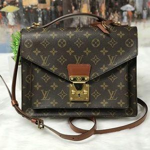 Louis Vuitton Monceau Briefcase Bag